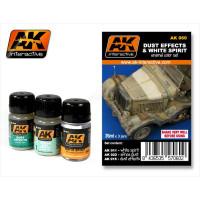 AK  SET-Pigmenti , Lavaggi, Terre , Effetti