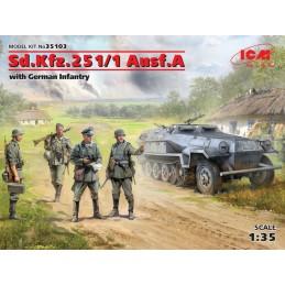 ICM 35103 1/35 Sd.Kfz.251/1...