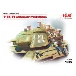 ICM 35368 1/35 T-34-76 with...