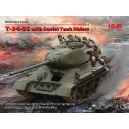 ICM 35369 1/35 T-34-85 with...