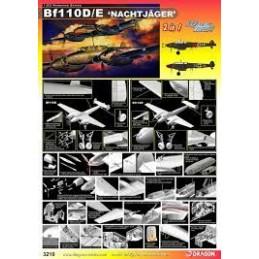 DR3210 1/32 Bf110D/E...