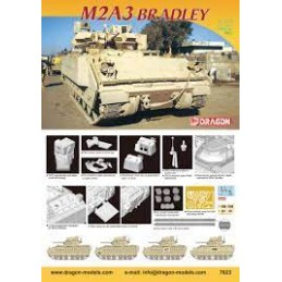 DR7623 1/72 M2A3 Bradley