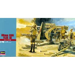 MT10 88mm Gun Flak 1/72