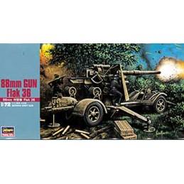 MT38 88mm Gun Flak 36 1/72