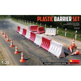 MA35634 Plastic Barrier Set...