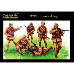 CAEH038 WWII FRENCH ARMY 1/72