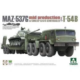 TKM5013 1/72 MAZ-537G con...