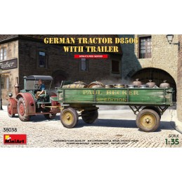 MA38038 German Tractor...