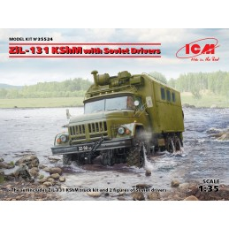 ICM 35524 1/35 ZiL-131 KShM...
