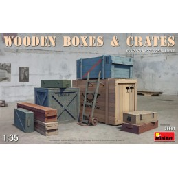 MA35581 1/35 Wooden Boxes &...