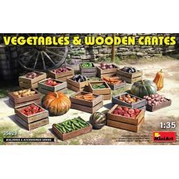 MA35629 Vegetables & Wooden...