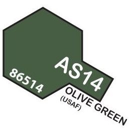AS14 SPRAY Aircraft OLIVE...