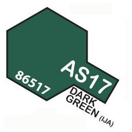 AS17 SPRAY Aircraft DARK GREEN