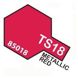 TS18 SPRAY Metallic Red