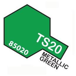 TS20 SPRAY Metallic green