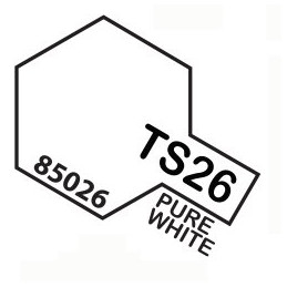 TS26 SPRAY Pure White