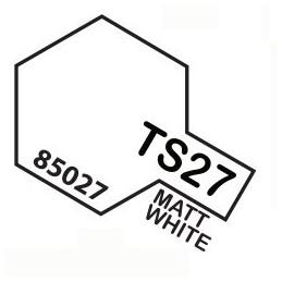 TS27 SPRAY Matt White