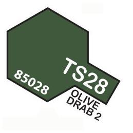 TS28 SPRAY Olive drab 2