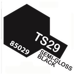 TS29 SPRAY Semi-Gloss Black