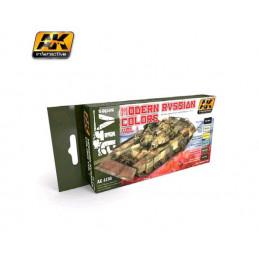 AK4130 set di colori Russi...