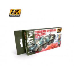 AK4140 set di colori Russi...