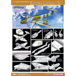 DR5084 1/72 CH GLOSTER...