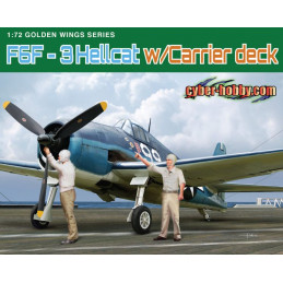 DR5117 1/72 CH F6F-3...
