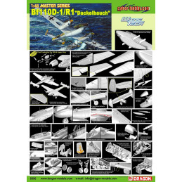 DR5556 1/48 CH BF 110D-1/R1...