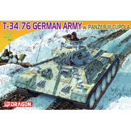 DR7316 T-34/76 German Army...