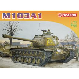 DR7519 1/72 M103A1 HEAVY TANK