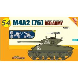 DR9154 1/35 M4A2(76) RED...