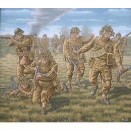 RV02523 British Infantry WWII