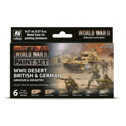 AV70208 WWII Desert British...