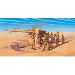 IT7512 8.8 cm. FLAK 37 AA Gun - FAST ASSEMBLY