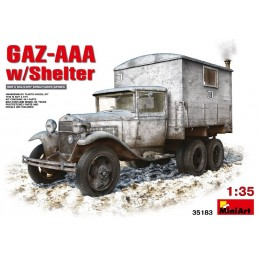 MA351831/35 GAZ AAA W/SHELTER