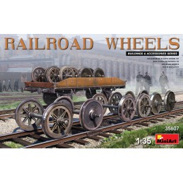 MA35607	1/35 RAILROAD WHEELS