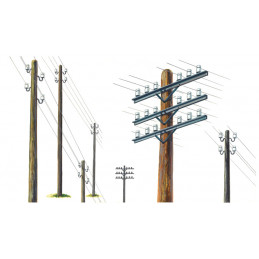 IT0404 Telegraph Poles