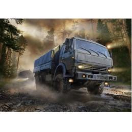 ZS36971/35 Kamaz Truck 3-axle