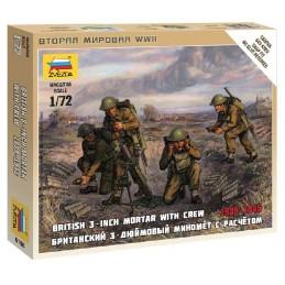 ZS61681/72 BRITISH MORTAR...