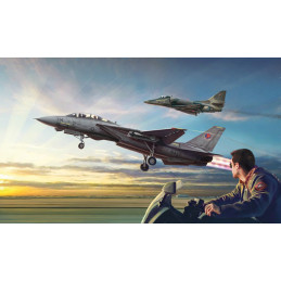 """IT1422 """"Top Gun"""" F-14A vs A-4F"""