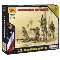 ZS7407	1/72 AMERICAN INFANTRY