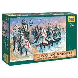 ZS8016	1/72 LIVONIAN KNIGHTS
