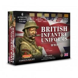 CS41 Uniformi inglesi Set 1