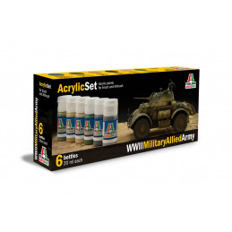 IT440AP ACRYLIC SET: WWII...