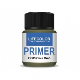 BC03 Olive Drab Primer 22ml