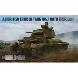 WAW011 1/72 - A9 British...