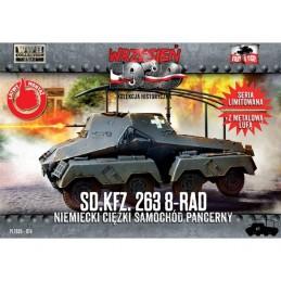 FTF074 1/72 SdKfz 263 8-rad...