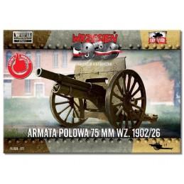 FTF077 1/72 Field Gun 75mm...