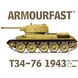 AMF99022 1/72 T34-79 , 1943...