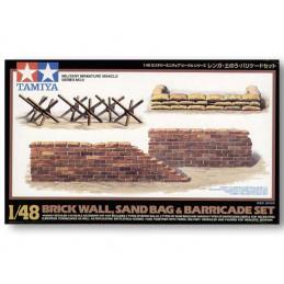 TA32508 1/48 Brick Wall,...